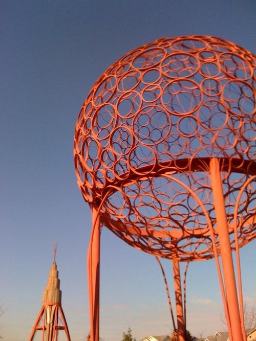 Spore sculpture