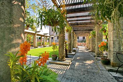 Orchids Garden Design g1 Queer Gardens Vizcaya Gardens Miami Sister Arts Gardens Poems Art Community