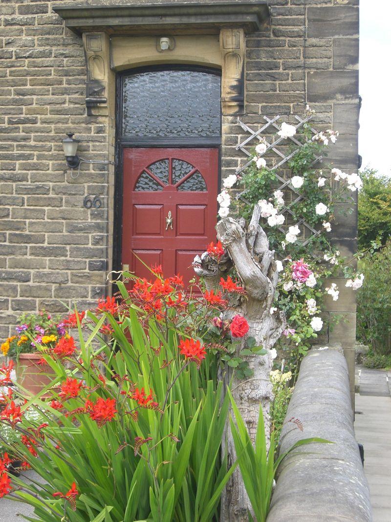 Haworth dooryard