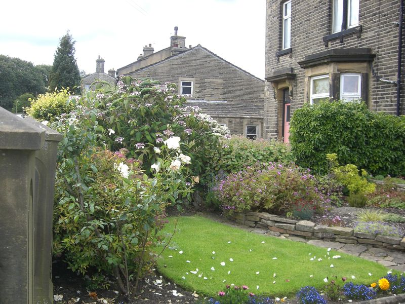 Haworth front garden