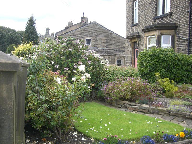 Haworth front garden